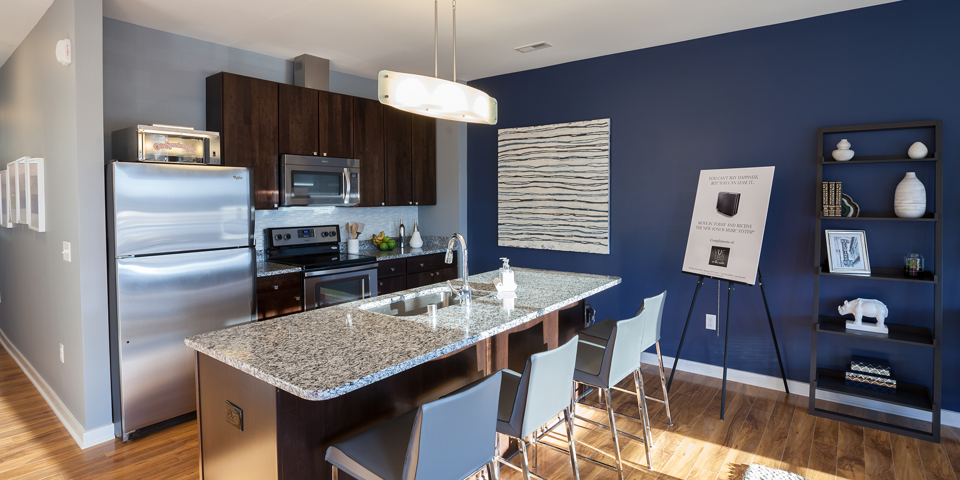 Fully appointed kitchens